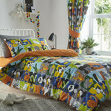 Kids Club Animal Jigsaw Duvet Set