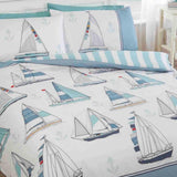 Sail Away Boats Duvet Set