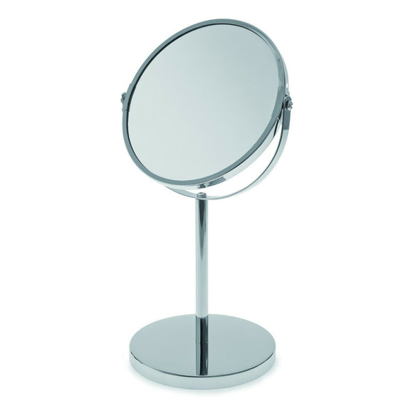 Round Swivel Pedestal Mirror