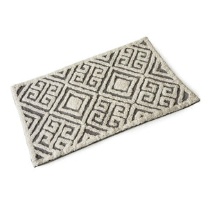 Geometric II Cotton Bath Mat