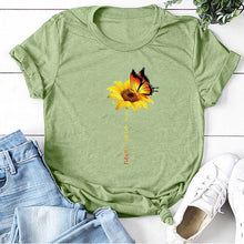 Load image into Gallery viewer, Cotton T Shirt Women's Graphic Tee