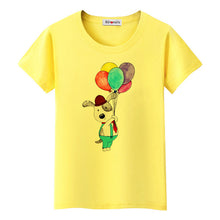Load image into Gallery viewer, Dog With Balloons tTshirt