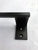 Satin Black Modern Steel Towel Bar / Towel Rack #2 for Kitchen / Bath