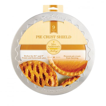Pie Crust Shield, 9''