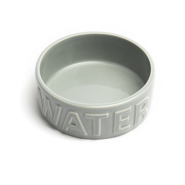 Park Life Designs Classic Water Pet Bowl, Medium Grey
