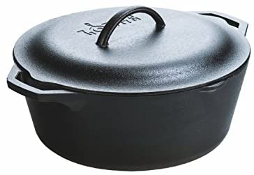 Lodge Cast Dutch Oven, 7 qt