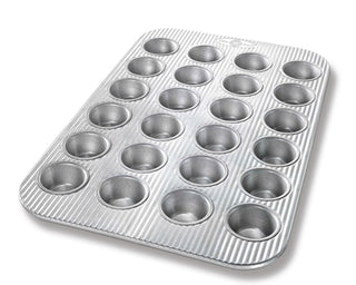 USA PAN Muffin Pan Mini, 24 Cup