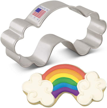 Rainbow Cookie Cutter, 4''