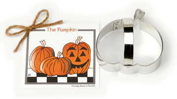 Cookie Cutter w recipe card - Pumpkin