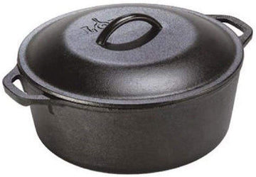 Lodge Cast Iron Dutch Oven, 5 qt