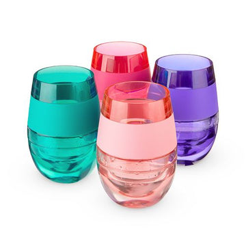 Host Cooling Wine Glass, Translucent Colors