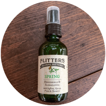 Flitters Floral Bitters, Spring