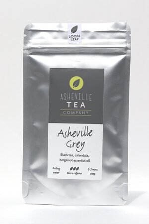Asheville Tea Asheville Grey Loose Leaf Tea, 1 oz pouch