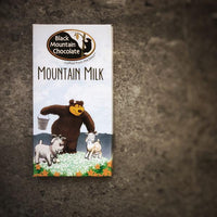 Black Mountain Chocolate Artisan Chocolate Bar - Mountain Milk
