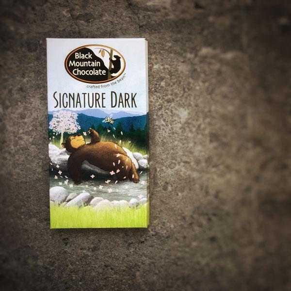 Black Mountain Chocolate Artisan Chocolate Bar - Signature Dark