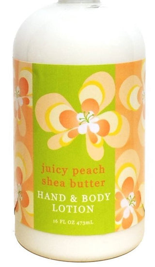 Greenwich Bay Shea Butter Lotion, Juicy Peach, 2 oz