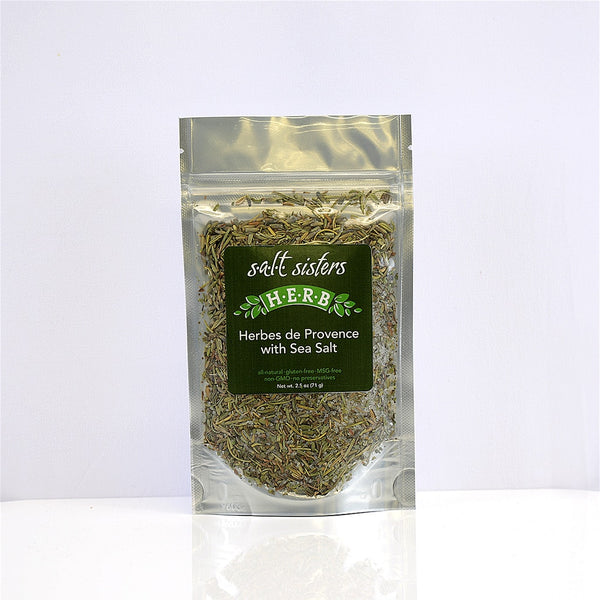Herbes de Provence with Sea Salt, 2.5oz