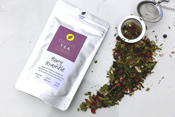 Asheville Tea Berry Bramble Loose Leaf Tea, 1 oz pouch