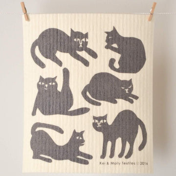 Sponge Cloth: Cats