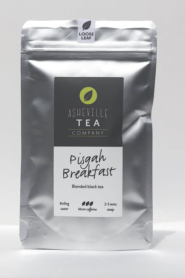 Asheville Tea Pisgah Breakfast Loose Leaf Tea, 1 oz pouch