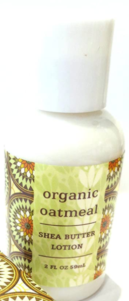 Greenwich Bay Shea Butter Lotion, Organic Oatmeal, 2 oz