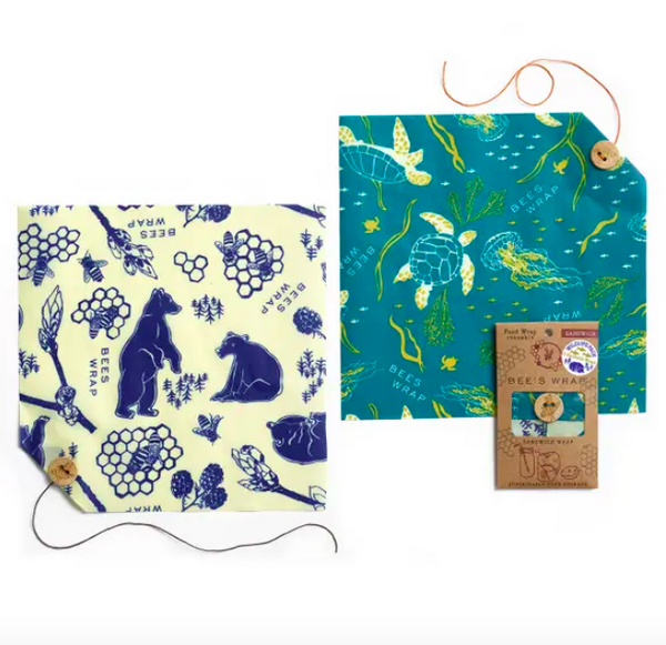 Bee's Wrap Wildlife Value Pack
