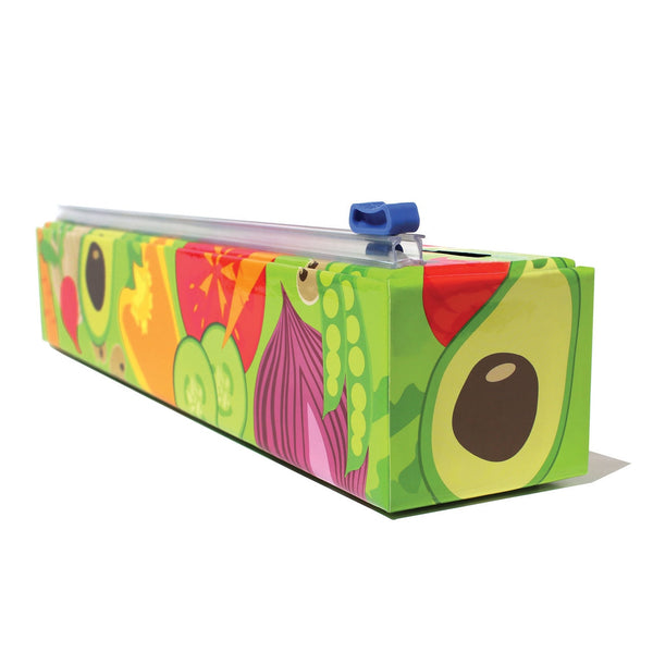 ChicWrap Plastic Wrap & Dispenser, Multiple Designs