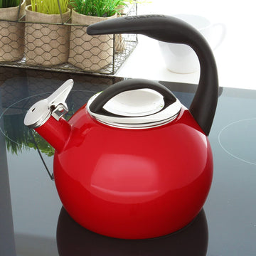Chantal Enamel-on-Steel Anniversary Teakettle