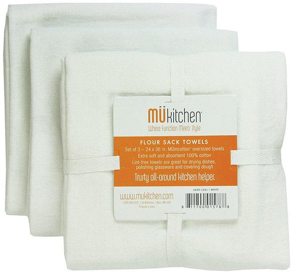 Set of 3 Flour Sack Towels
