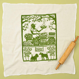 Flour Sack Dish Towel: Buy Local