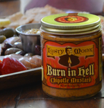 Lusty Monk Burn In Hell Chipotle Mustard