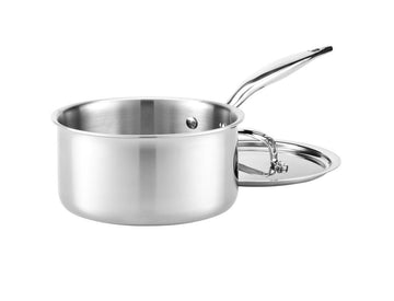 Heritage Steel Saucepan with Lid