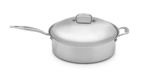 Heritage Steel 8 Qt. Family Sauté with Lid