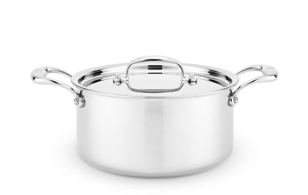 Heritage Steel Sauce Pot with Lid
