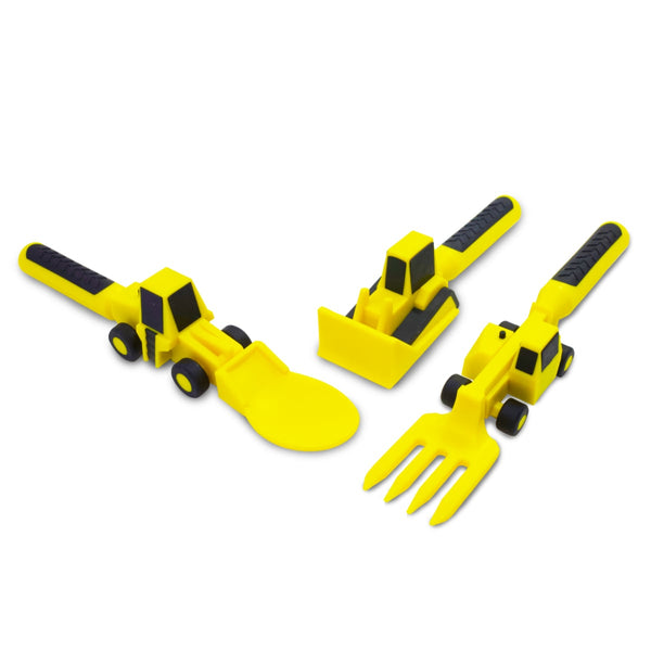 Contructive Eating Construction Utensils