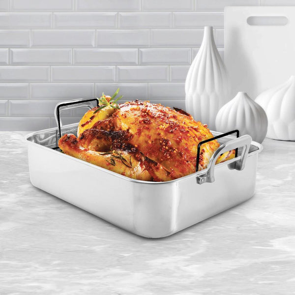 Chantal Stainless Steel Roaster w/Nonstick Rack