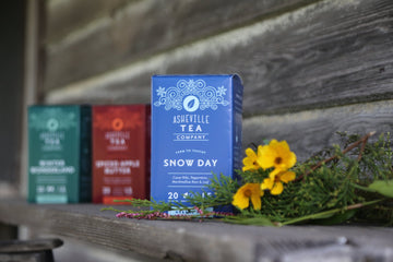 Asheville Tea Snow Day Tea Box, 20 tea bags