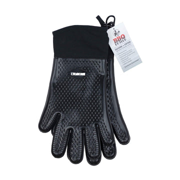 BBQ Butler Cloth Lined Silicone Gloves