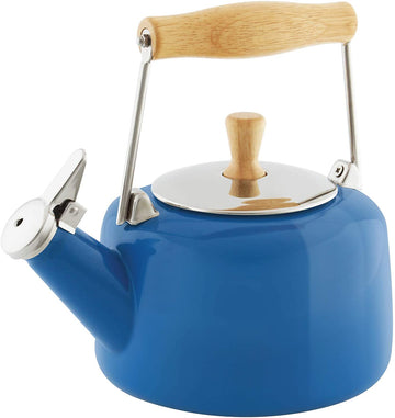 Chantal Enamel-on-Steel Sven Teakettle