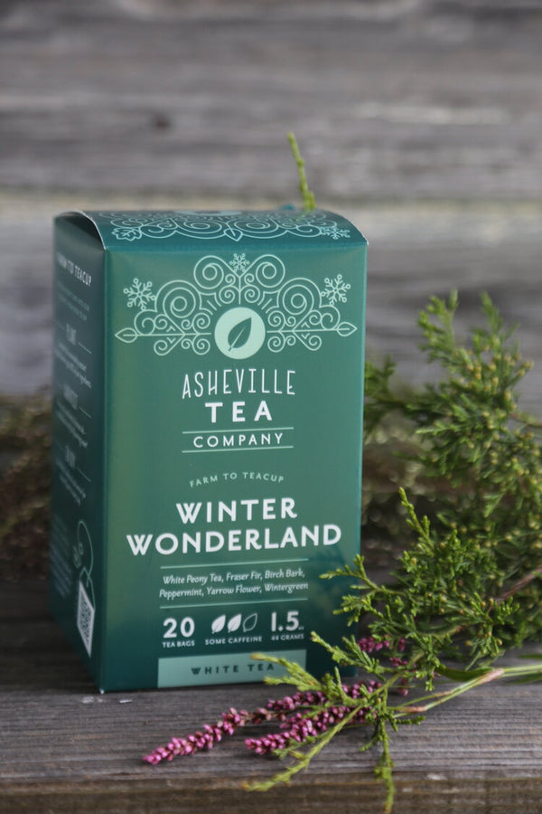Asheville Tea Winter Wonderland Tea Box, 20 tea bags