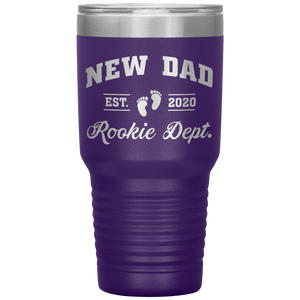 New Dad Rookie Dept - 30 Ounce Vacuum Tumbler