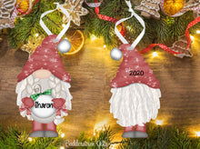 Load image into Gallery viewer, PG Holiday / Christmas GNOME Ornaments - with  or without Braids - Free Shipping