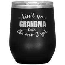 Load image into Gallery viewer, Ain't no Grandma like the one I got - Stemless Wine Tumbler