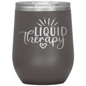 Liquid Therapy - Stemless Wine Tumbler