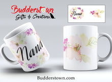 Load image into Gallery viewer, Floral Mug FOR HER - 3 sizes