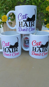 Cat Hair Don't Care, 3 Sizes