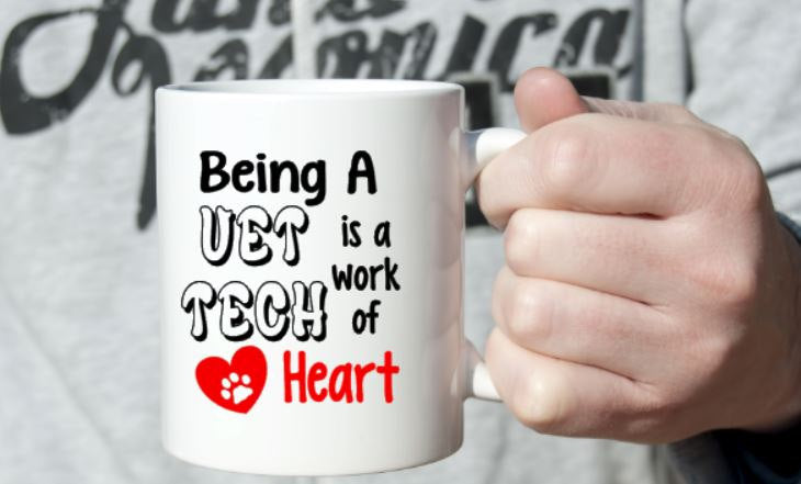 Vet Tech Mug - 2 Sizes