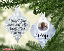 Load image into Gallery viewer, Your Wings Were Ready to Fly....Memorial Ornament