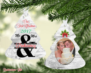 Our First Christmas as Mr & Mrs, 2020 Ornament