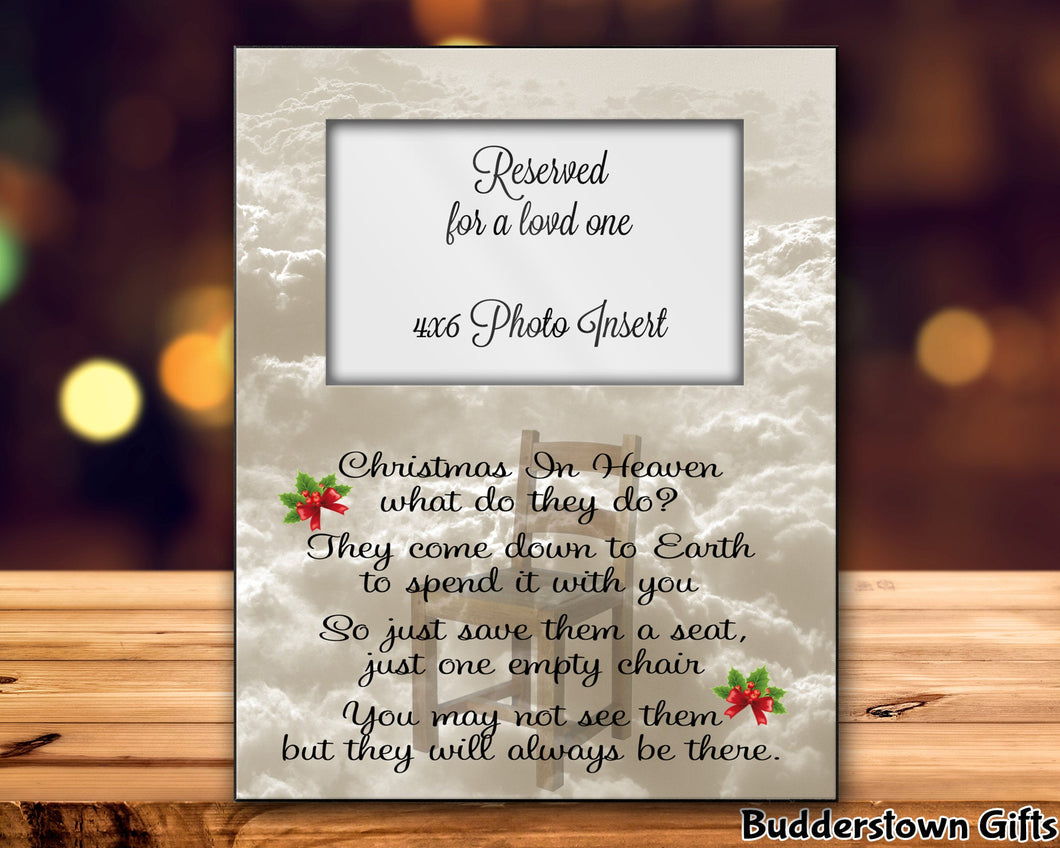 Christmas In Heaven/The Empty Chair w/ holly leaves
